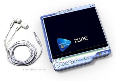 Zune design - image courtesy of klaus silberbauer