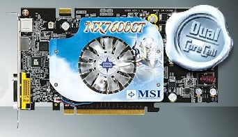 msi nx7600gt hdmi vga card