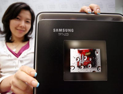 samsung's 3in 640 x 480 digital camera lcd