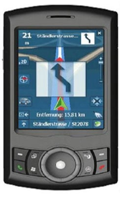 htc artemis gps pda phone