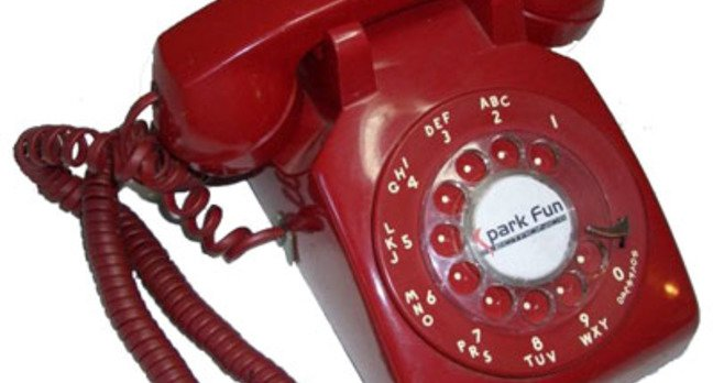 spark fun electronics rotary dial mobile phone