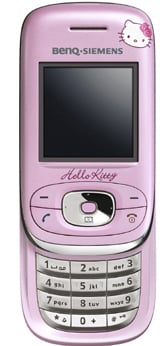 benq mobile al26 hello kitty phone
