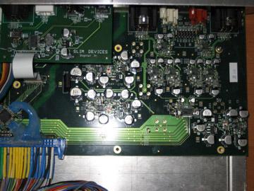 slim devices transporter - audio circuitry