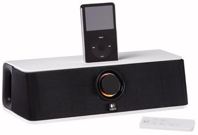logitech audiostation express ipod speaker