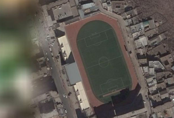 Chamdo's football stadium