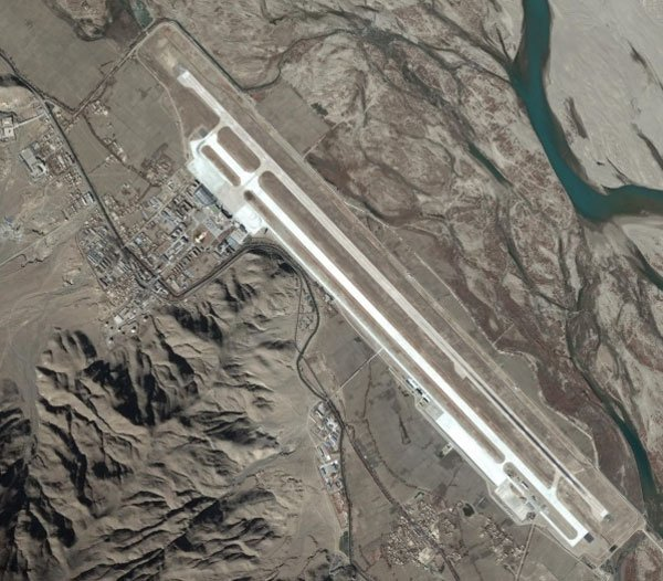 Lhasa airport at Gongkar