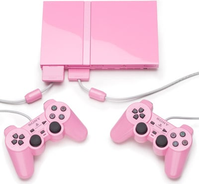 sony's pink ps2