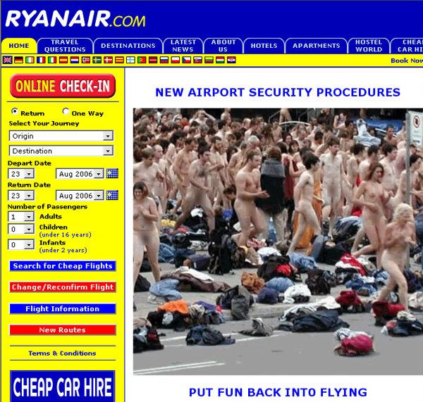 Ryanair - putting the fun back into flying