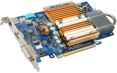 gigabyte gv-nx76g256hi-rh hdmi silentpipe graphics card