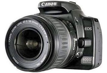 canon eos 400d digital slr camera