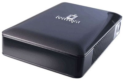 iomega 320gb esata external hard drive
