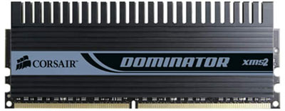 corsair dominator xms2 pc2-8888 dimm