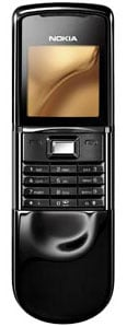 nokia 8800 sirocco slider phone