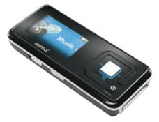 sandisk sansa c250 mp3 player