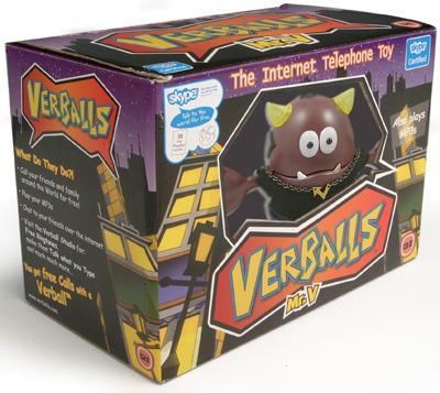 evesham verballs skype phone toy
