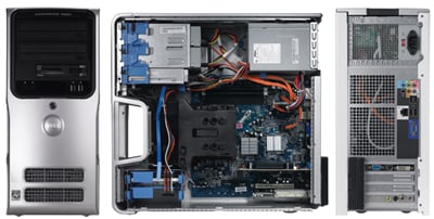 dell dimension e521 amd-based desktop pc