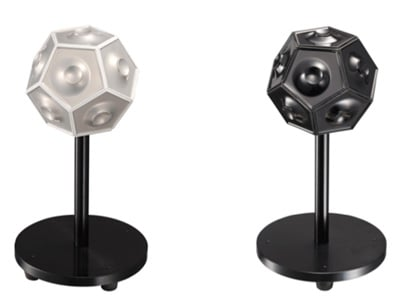 jvc pulsating sphere speakers