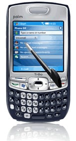 palm treo 750v today screen