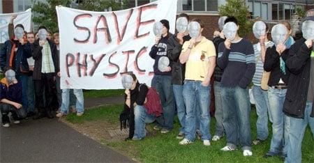 Masked protest