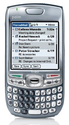 Less stubby: Palm's Treo 680