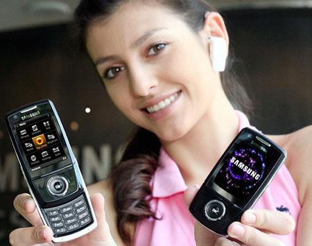 samsung i520 symbian-based hsdpa phone
