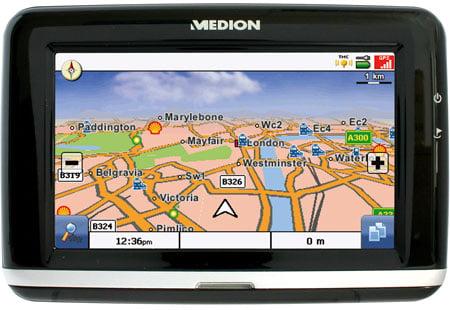 medion gopal pna 470 widescreen gps