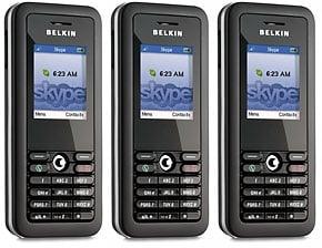 belkin's wi-fi phone for skype