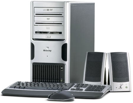 gateway fx510 desktop pc