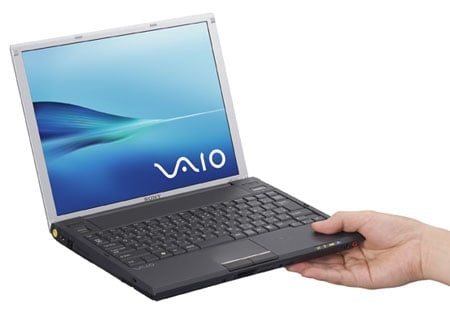 sony japan's lightweight vaio g1