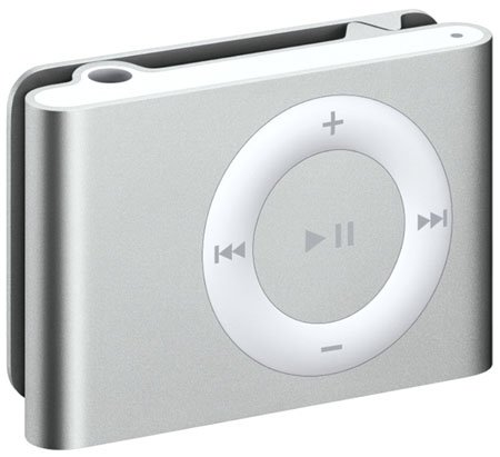 apple's second-generation ipod shuffle
