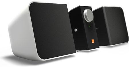 orange bluetooth speakers