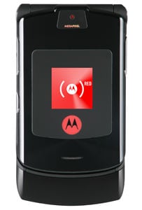 motorola's black red razr
