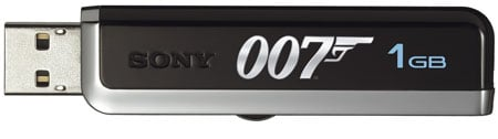 sony microvault 007 edition