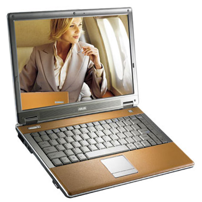 asus w6 leather-clad laptop