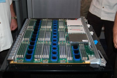 Shot of the SiCortex server board