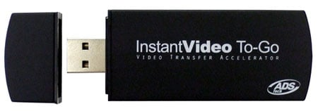 ads tech instantvideo to go h.264 accelerator