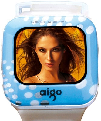 aigo f029 digital media player wristwatch