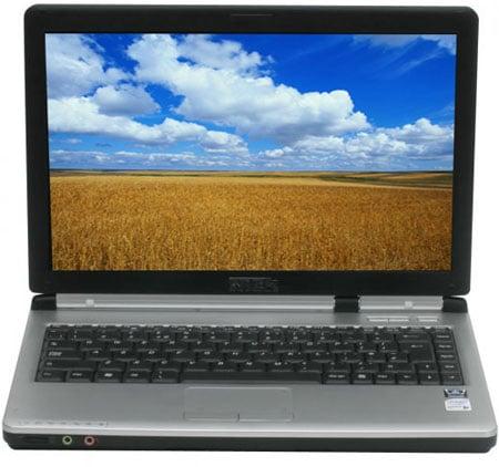 rock pegasus 335 core 2 duo 13.3in laptop