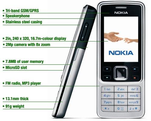 nokia 6300 phone