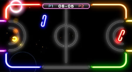 nintendo wii - wii play laser tennis