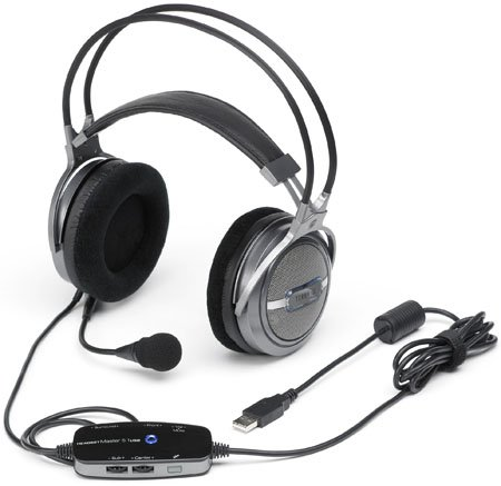 terratec Headset Master 5.1 USB headphones