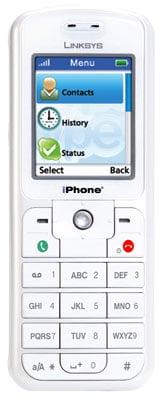 linksys iphone wip320