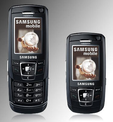samsung ultra edition 13.8 - aka z720 - hsdpa slider phone