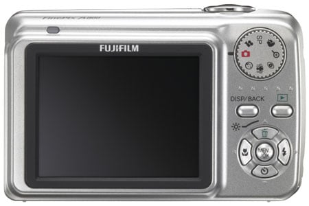 fujifilm finepix a610 back