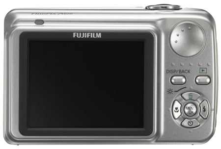 fujifilm finepix a800 back