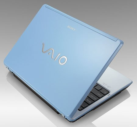 sony vaio c2 'rediscovery blue' laptop