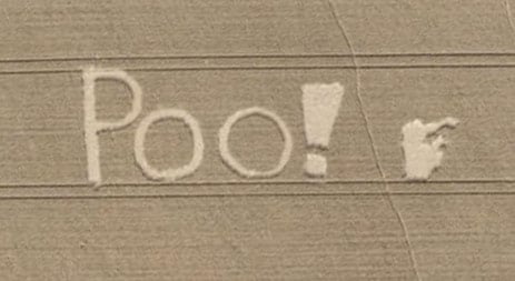 Scots say poo on Google Earth