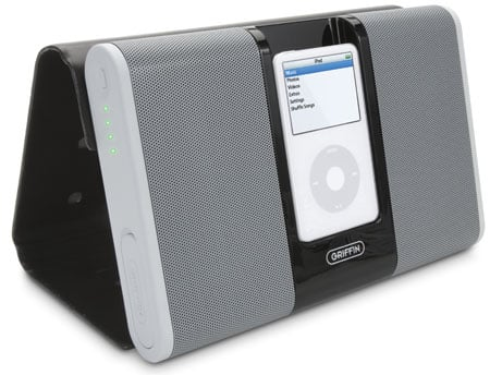 griffin technology's journi portable ipod speakers