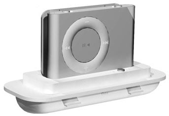 griffin technology's second-gen ipod shuffle dock adaptor