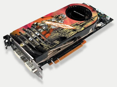 elitegroup ecs n8800gtx-768mx graphics card